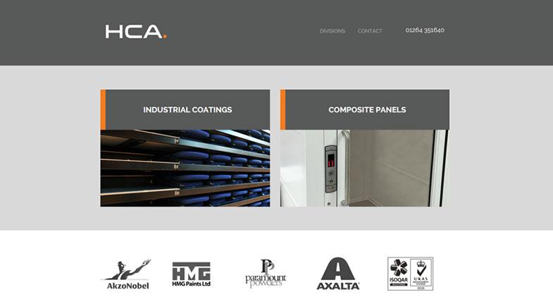 HCA homepage