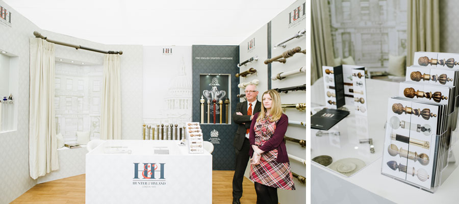hunter & hyland decorex stand 2015