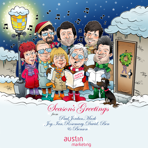 austin marketing christmas card 2013