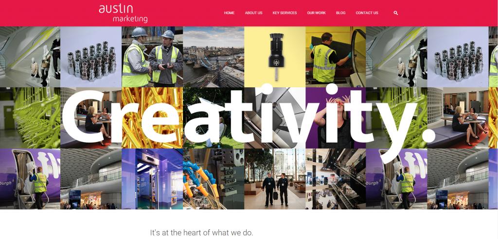 new austin marketing website