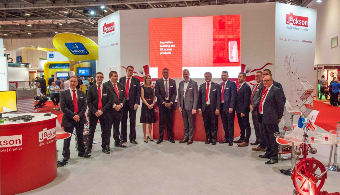 Marketing Exhibition Stand Goals : More success at liftex with jackson lifts exhibition
