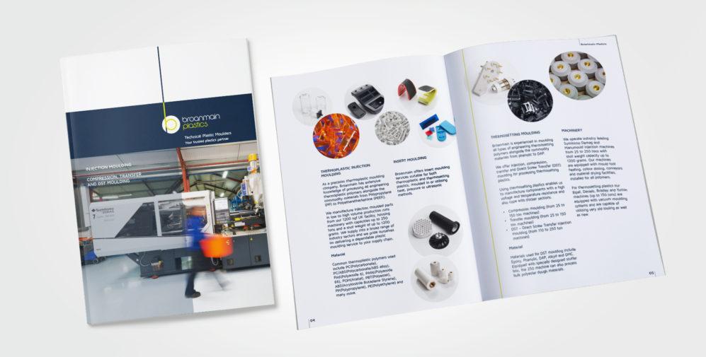 Corporate Brochure, Company Brochure Design, Austin Marketing