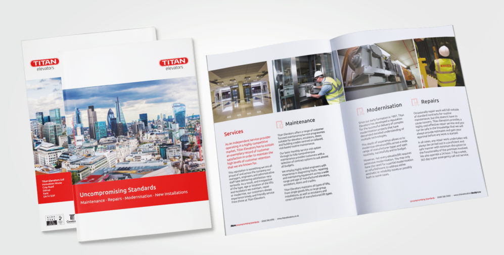 corporate brochure design , company brochure by Austin Marketing