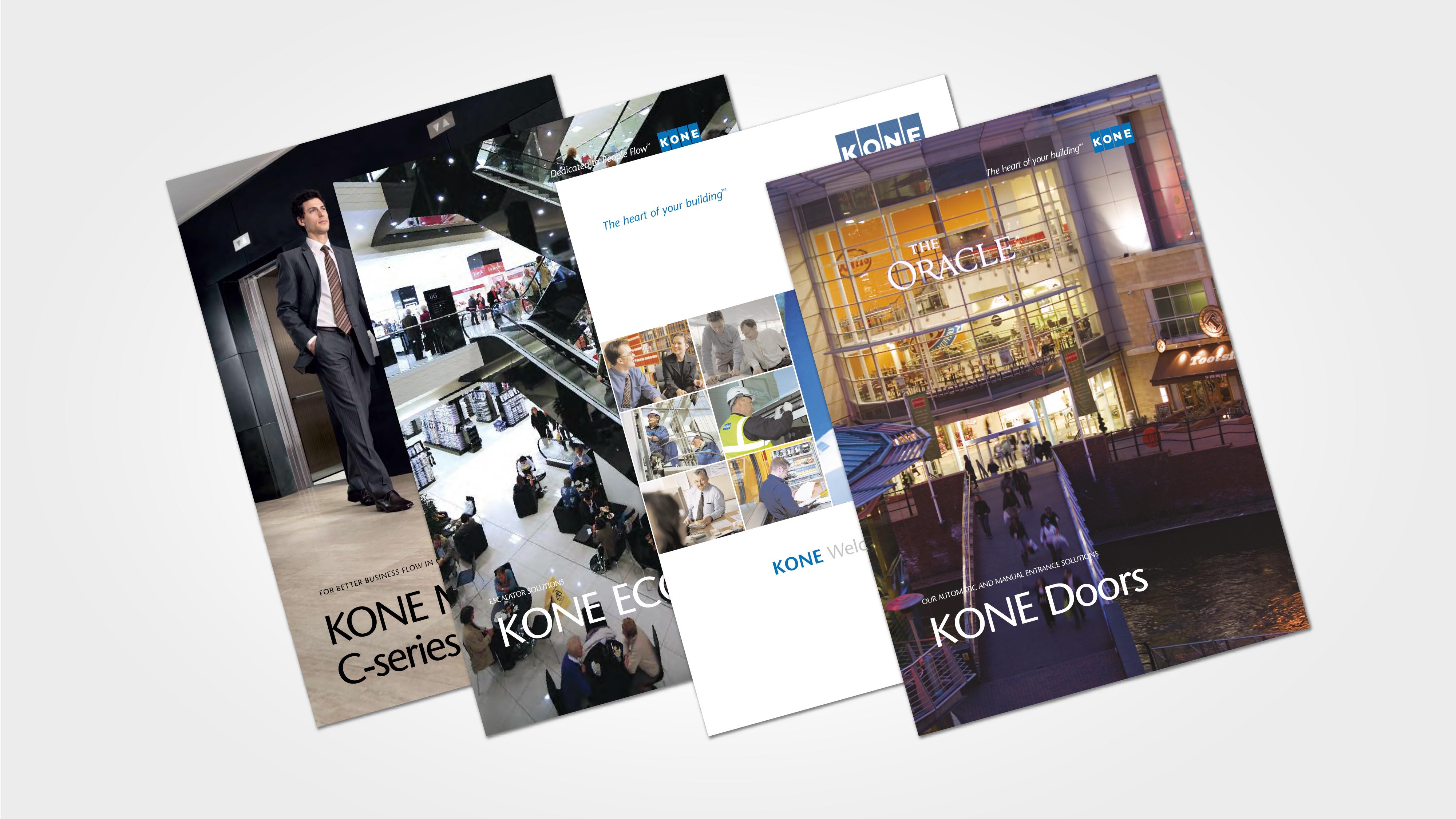 kone brochure creation