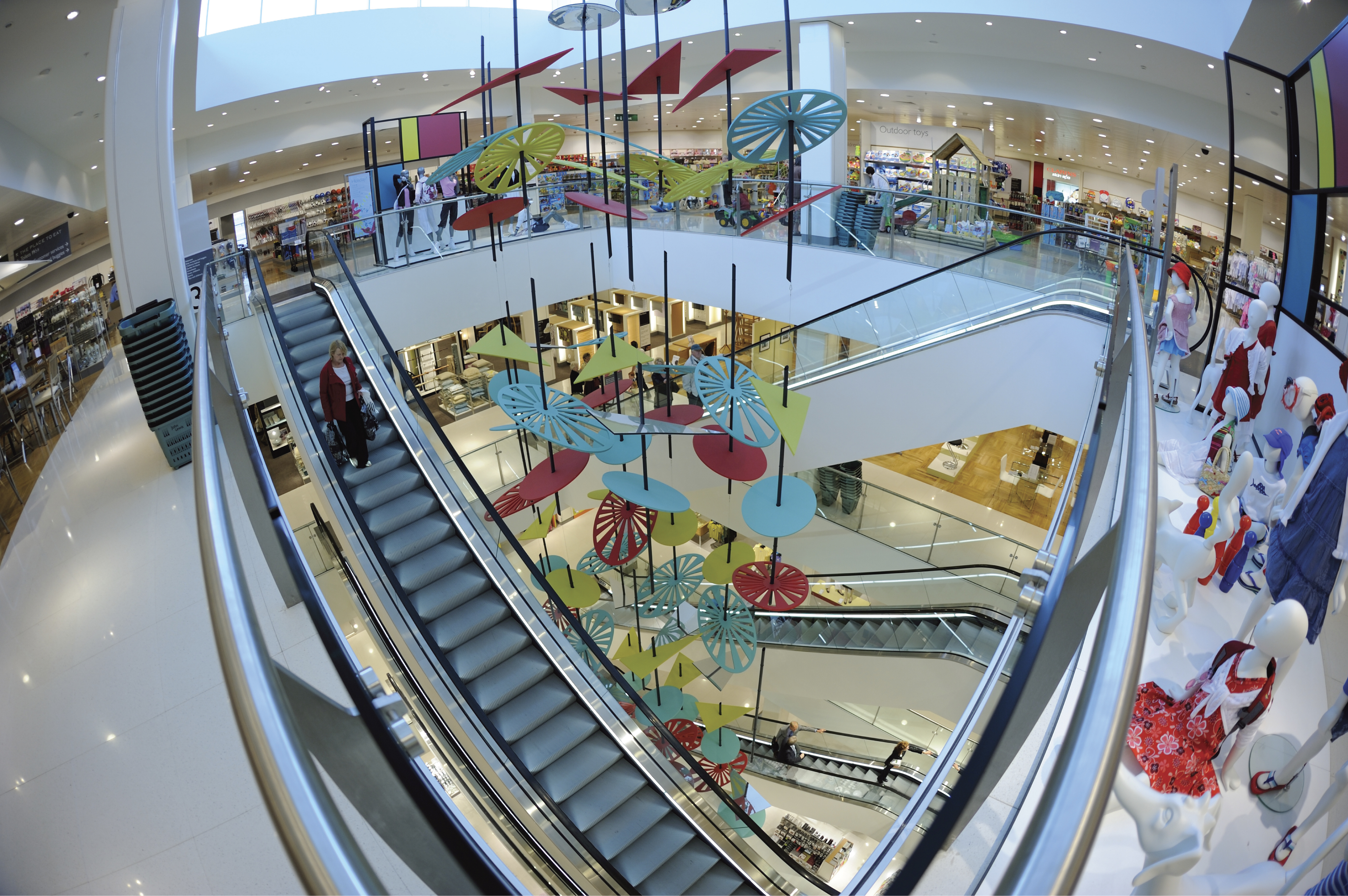 kone escalator photography