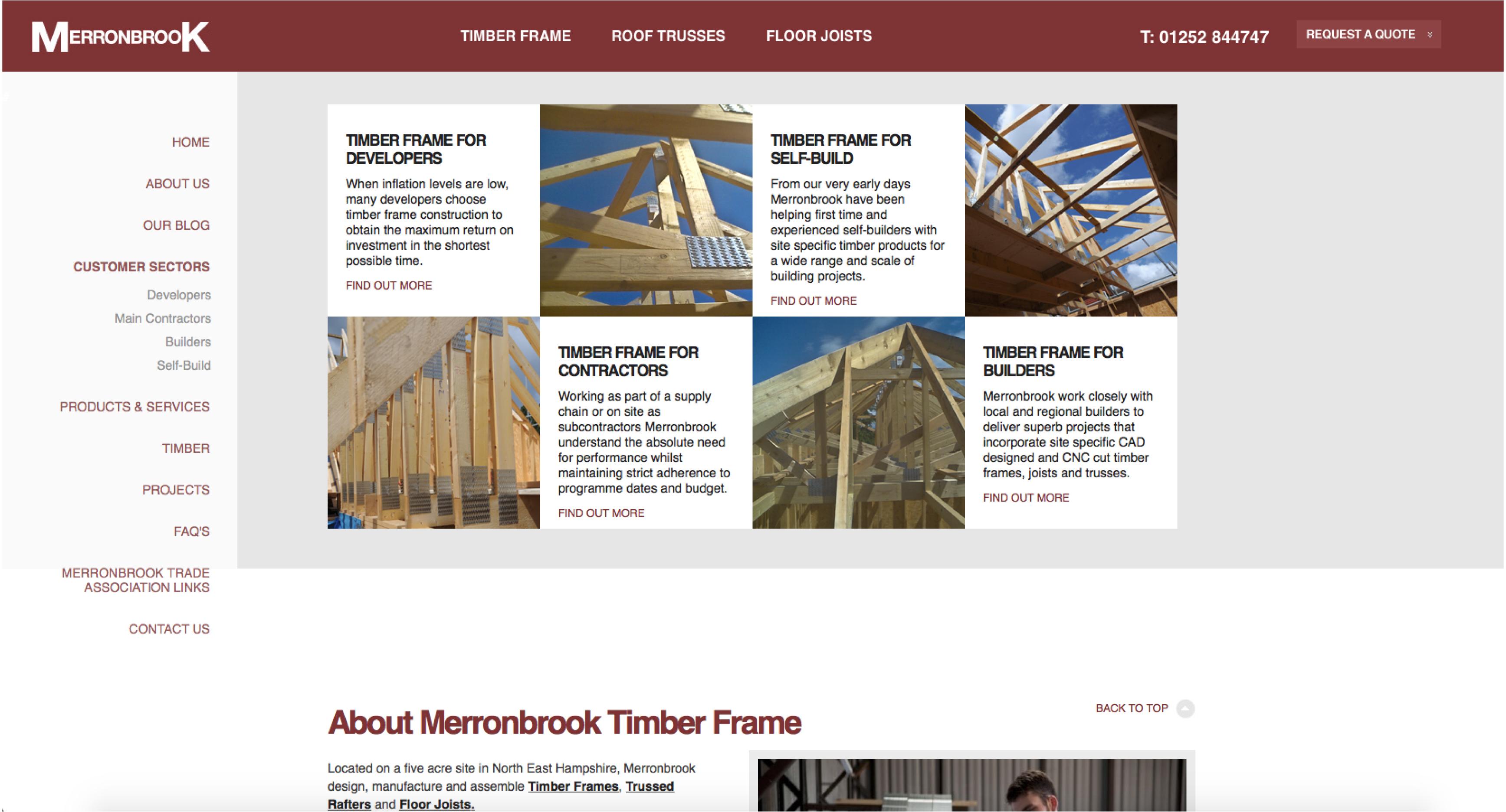 further homepage