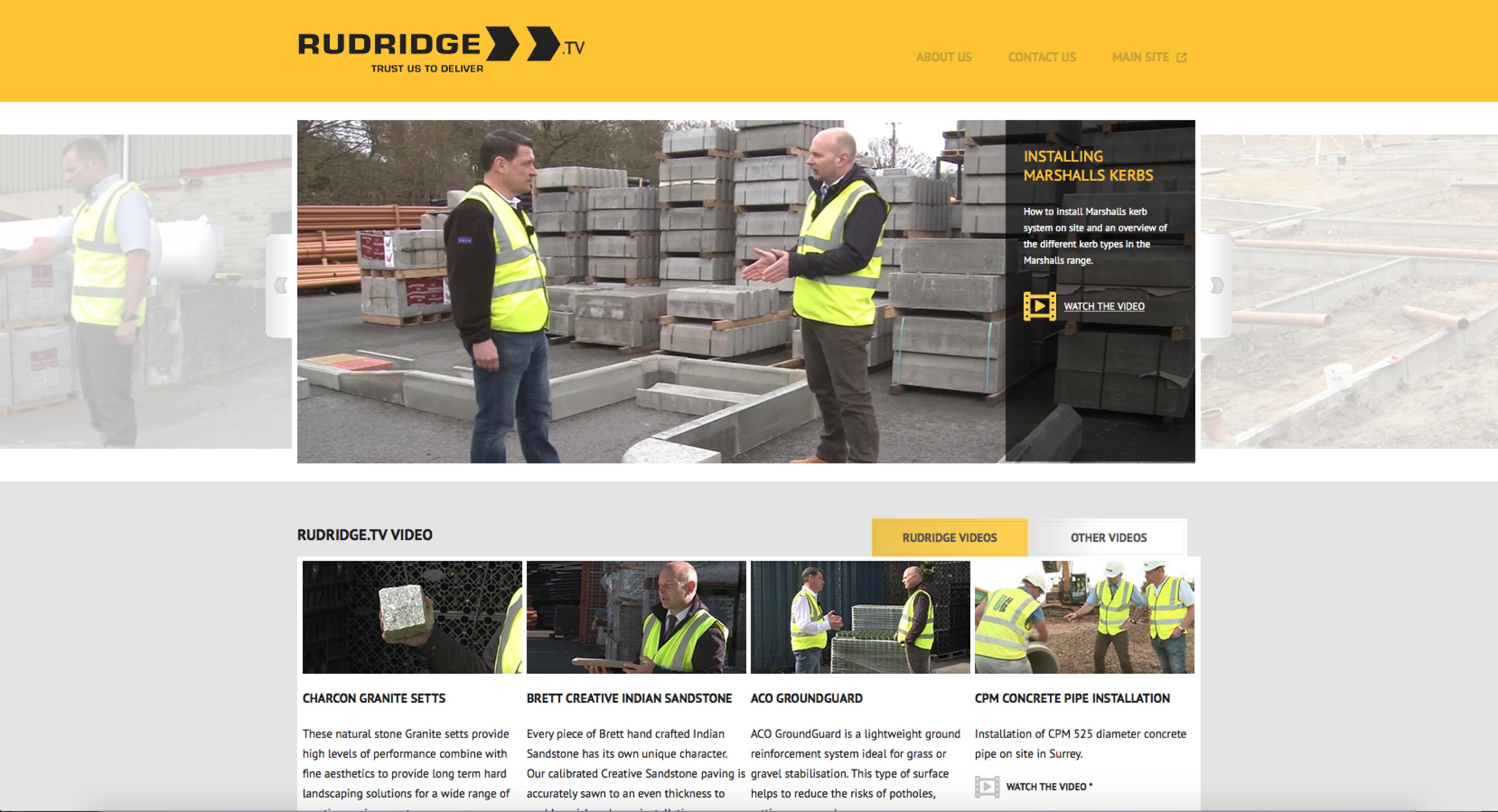 rudridge tv website