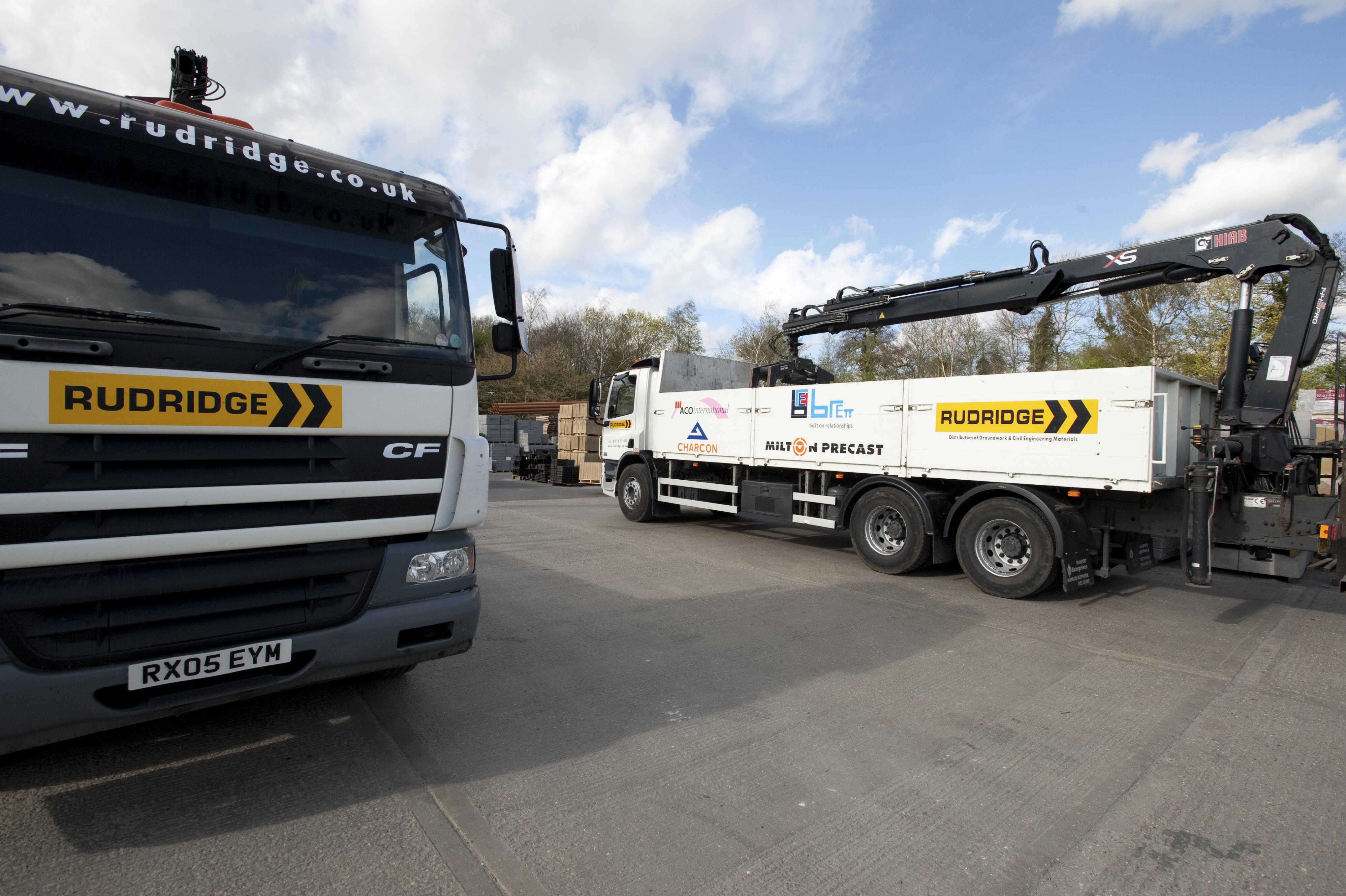 rudridge branded trucks