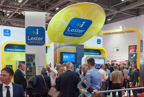 Exhibition stand Lester Controls