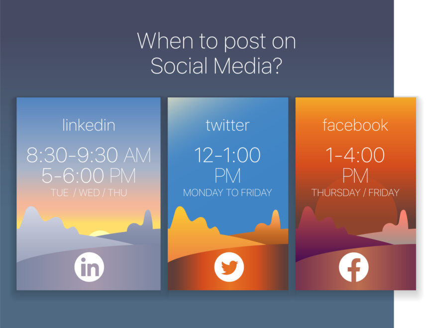 day times for social media
